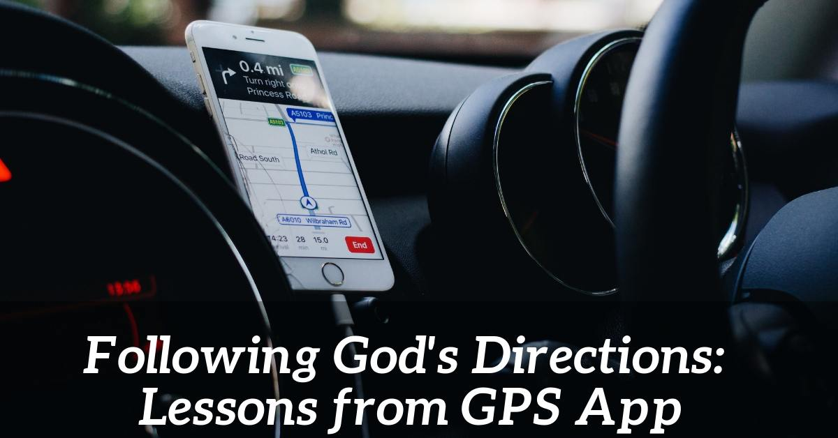 following God's direction