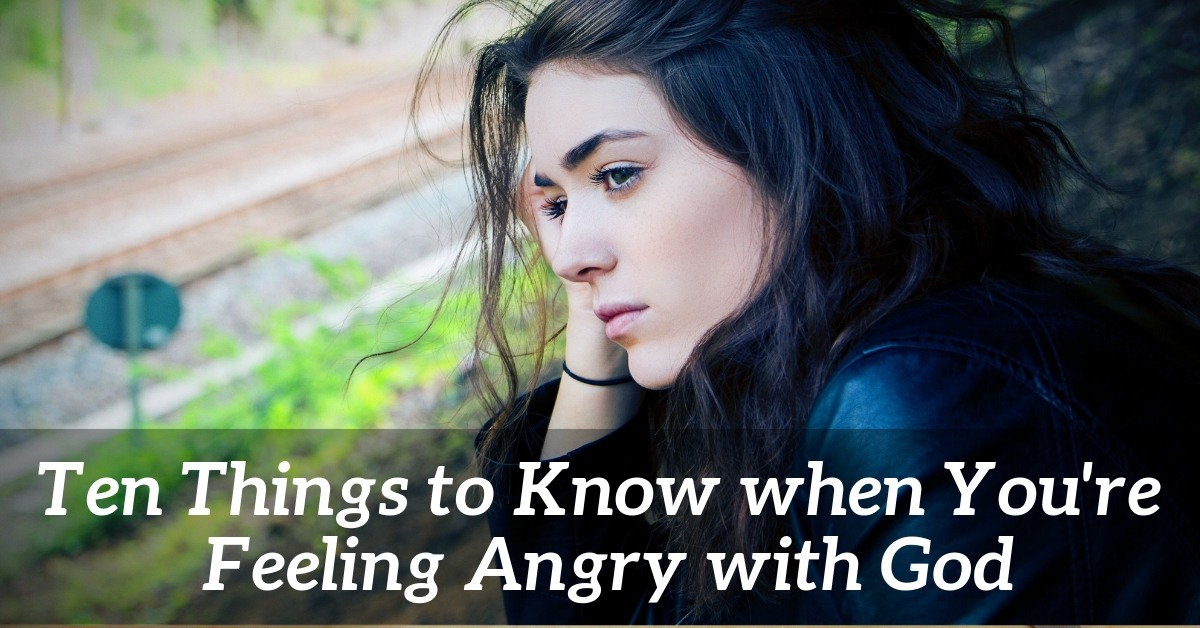 Things to know when feeling angry